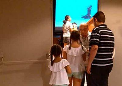 Mollerussa inaugura les projeccions permanents al Centre Cultural